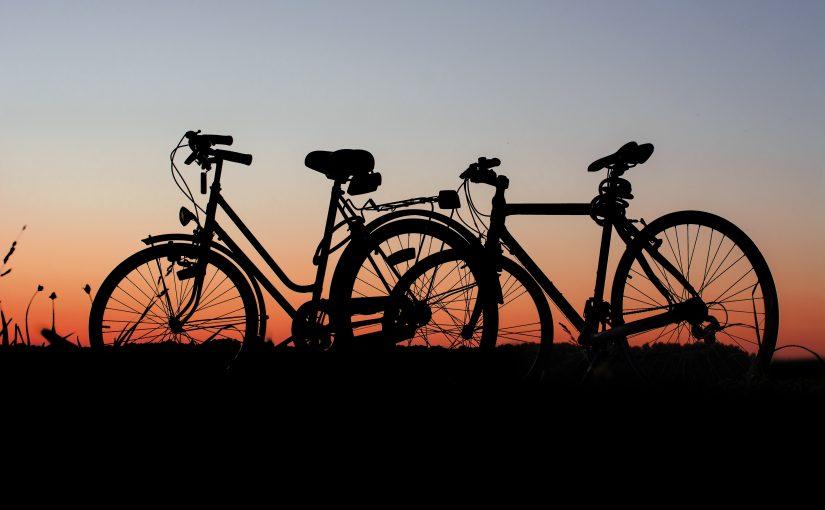 Två cyklar